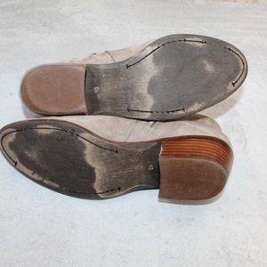 Sam Edelman Shoes - Sam Edelman Gray Suede Petty Chelsea Booties